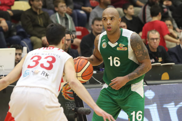 Photo of Gregory Vargas logró triple-doble y llevó al Maccabi Haifa al cuarto lugar