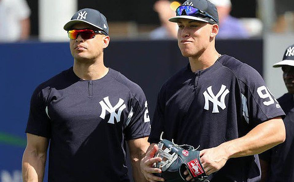 Photo of Yankees son optimistas con el estado físico de Aaron Judge y Giancarlo Stanton