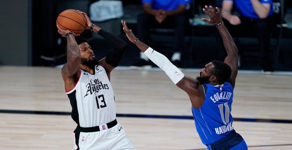 Photo of LA Clippers despedazó a Dallas guiado por el despertar de George